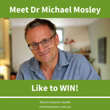 Competition time – meet Dr Michael Mosley.