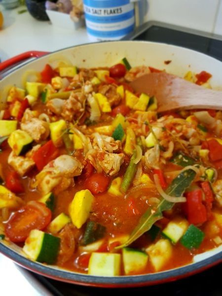 One pot wonder – chicken and vegetables