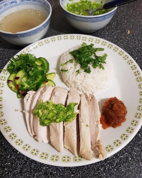 Asian chicken rice
